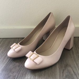 NEW Cole Haan Emory Grand Light Pink Pumps w/ Bow